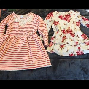 Other - 4t dress and dress shirt